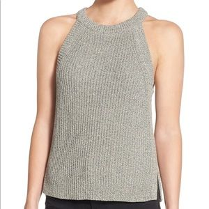 Madewell valley sweater tank XXS F1935